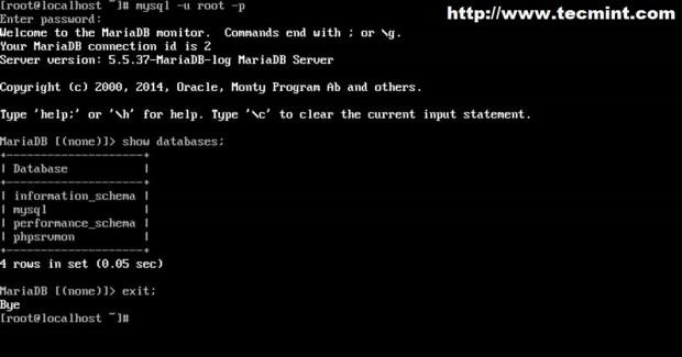 Connect to MySQL Database