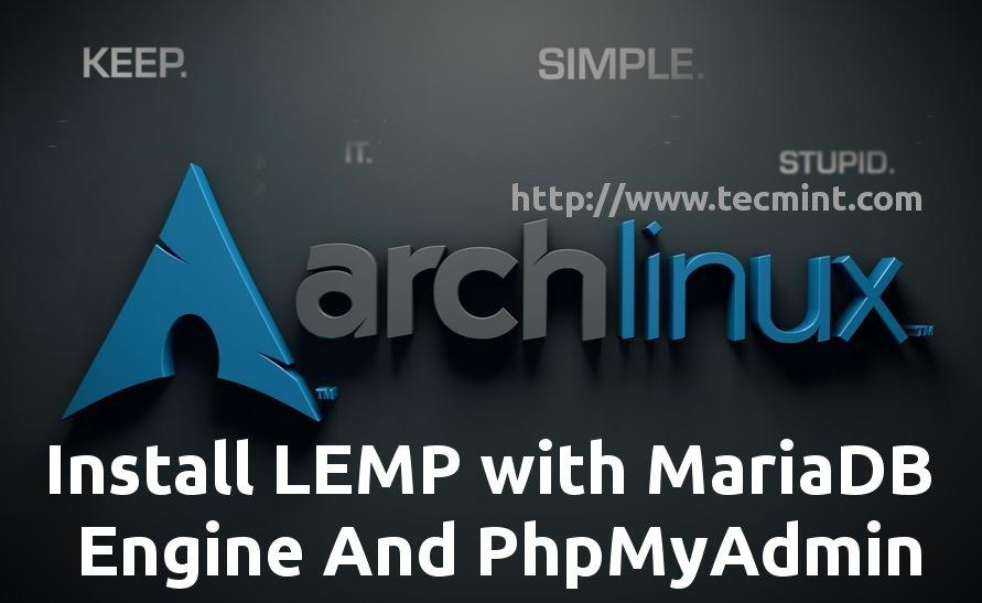Install LEMP in Arch-Linux