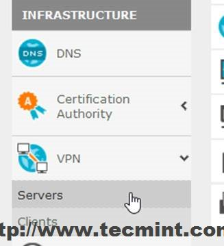 Configure Zentyal OpenVPN Server
