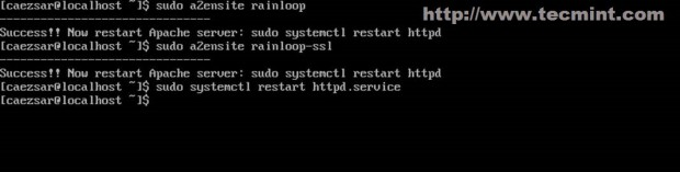 Enable Virtual Hosts
