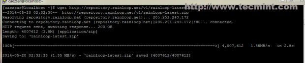 Download RainLoop Package