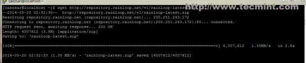 Download RainLoop Package