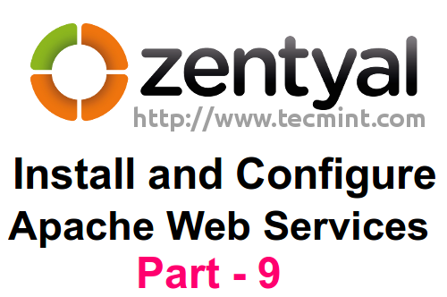 Install Web Services in Zentyal
