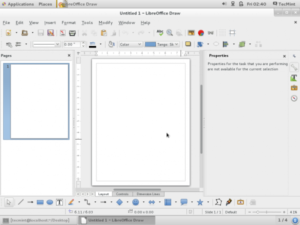 LibreOffice Draw Drawing