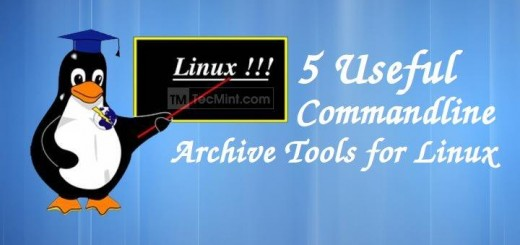 Linux Commandline Archives Tools
