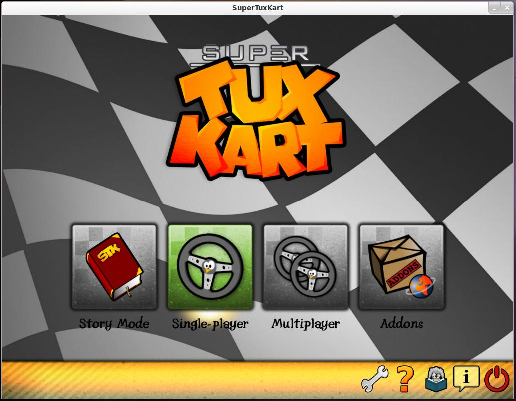 Install SuperTuxKart Game in Linux
