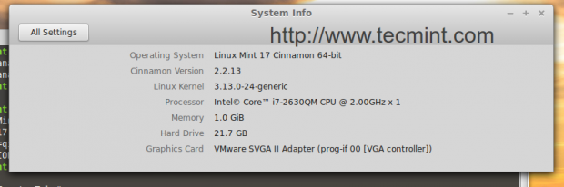 Upgraded to Linux Mint 17
