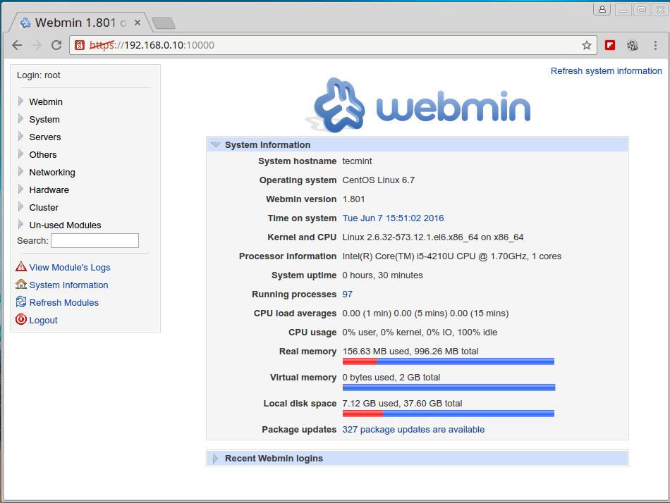 Linux System Status