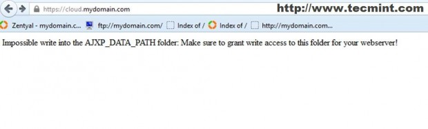 Access Sub Domain