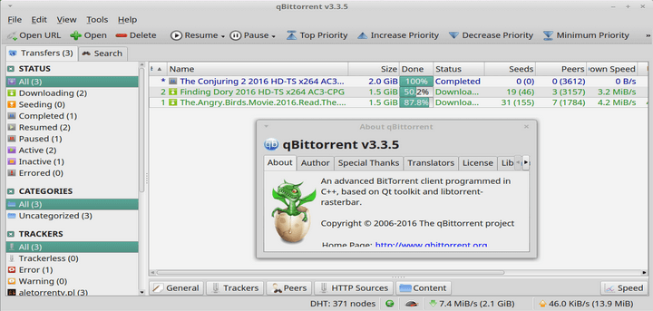 qBittorrent Client for Linux Systems
