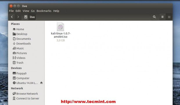 Copy ISO Files to Live Directory