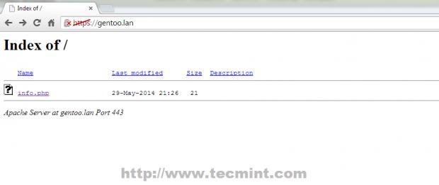 Verify HTTPS Protocol