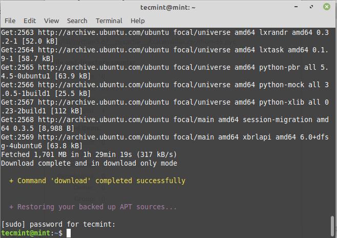 Download Linux Mint Upgrades