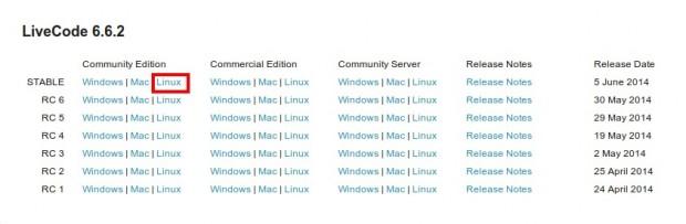 Download Livecode 6.2