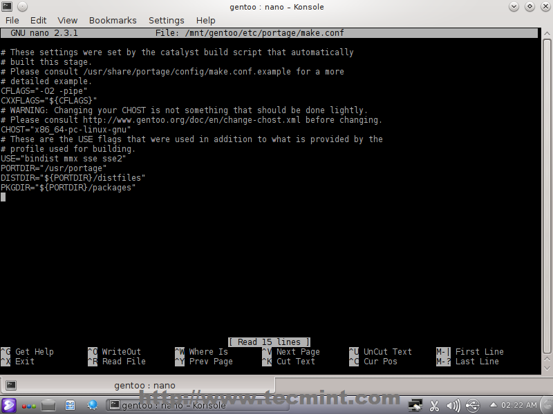 Listing Install Packages Gentoo