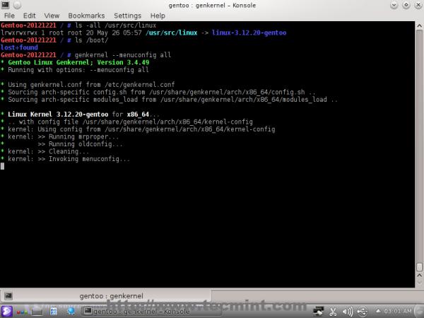 Compiling Kernel