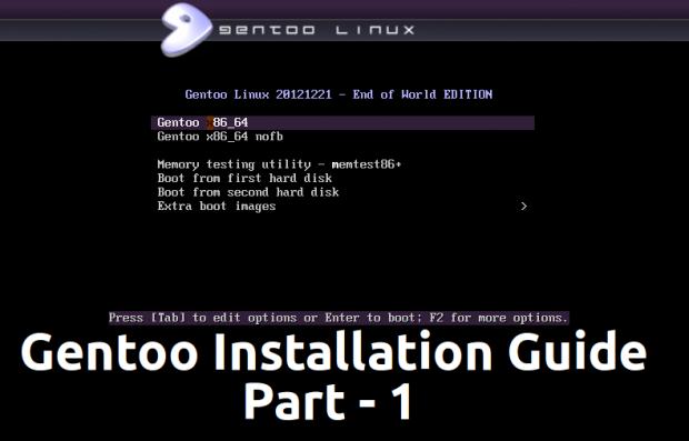 Gentoo Installation Guide