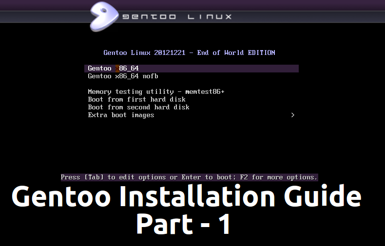 Gentoo Installation Guide