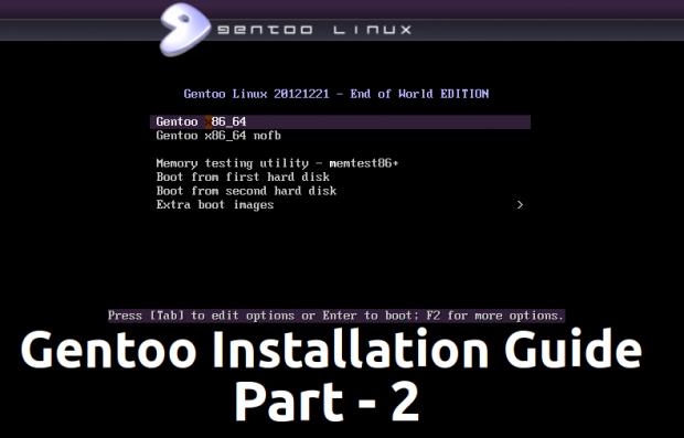 Gentoo Linux Installation