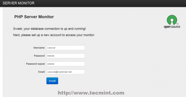 Install PHP Server Monitor
