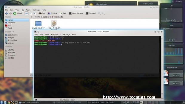 Install Skype 4.3 in Gentoo Linux