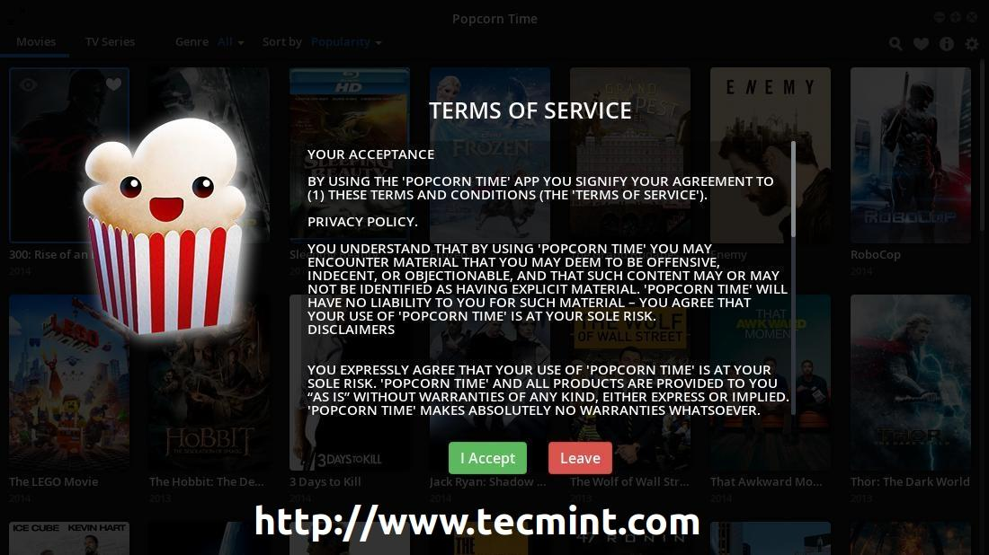 "Watch Favorite Movies/TV Shows Online Using ""Popcorn Time ..."