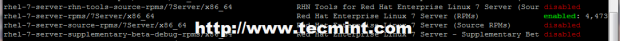 Verify Enabled Repositories on RHEL