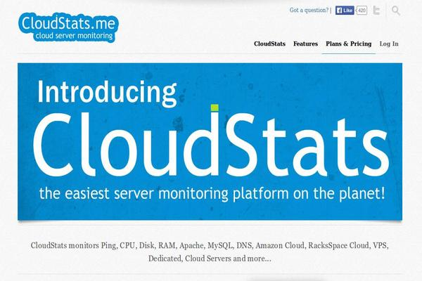 CloudStats - Linux Monitoring