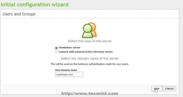 Select Default Server