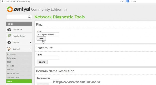 Network Diagnostic Tool