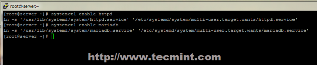 Enable Services System Wide