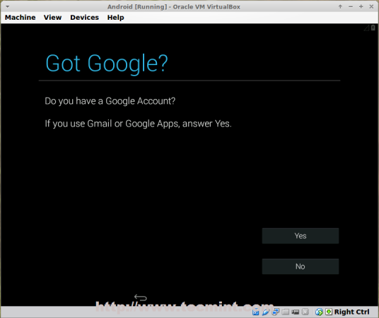 Create Android Google Account