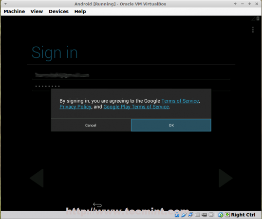 Sign in Google Account