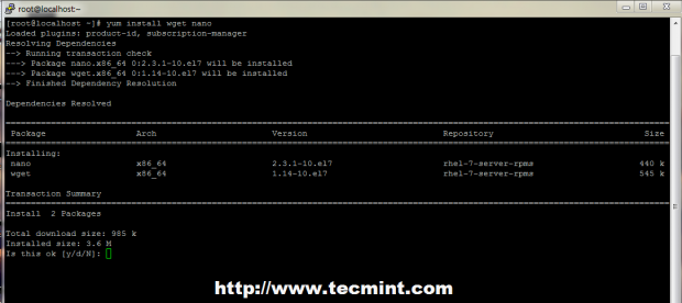 Install wget in Linux