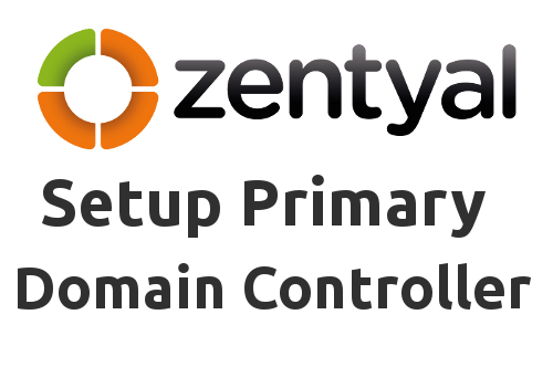 Install Zentyal as PDC