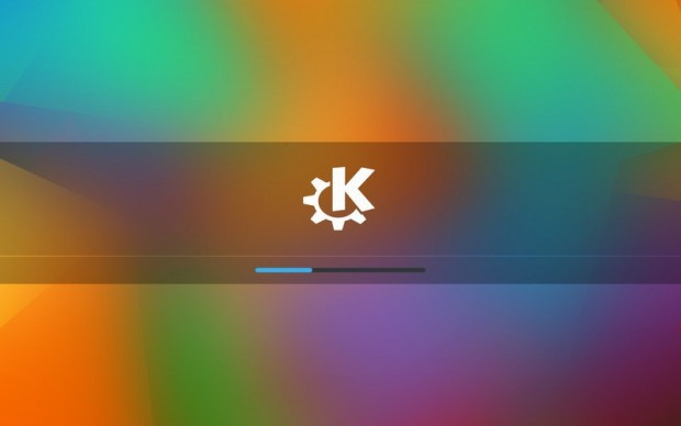 kde start screen