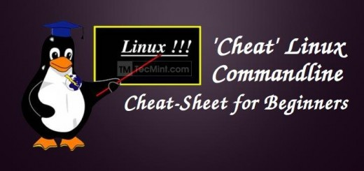 Linux Commandline Cheat Sheet