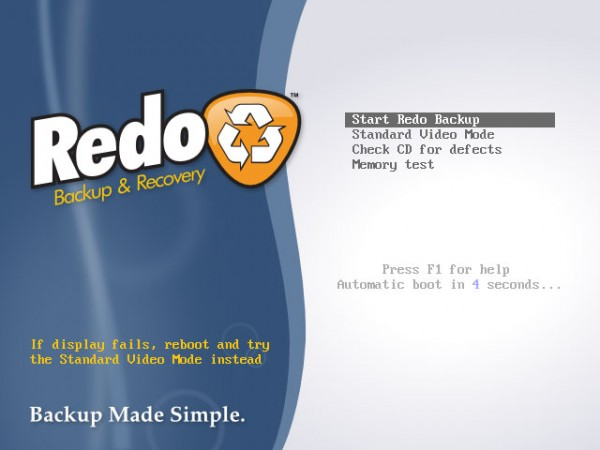 Redo Backup for Linux