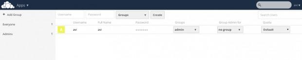 User Group Quota