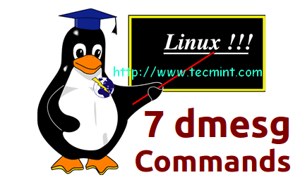 dmesg Command Examples