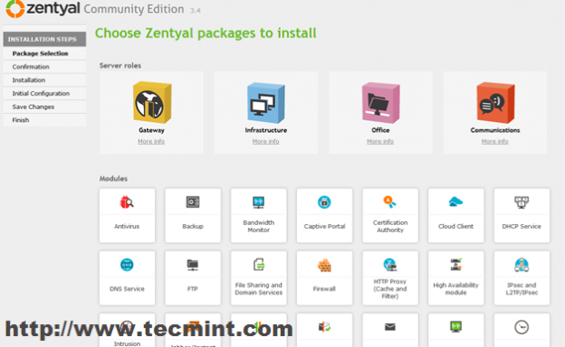 Select Packages to Install