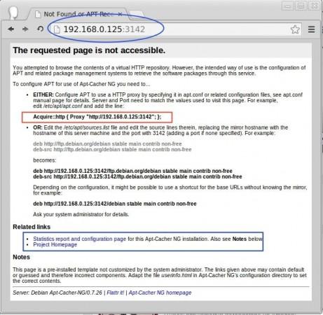 Apt Cache Access Reports