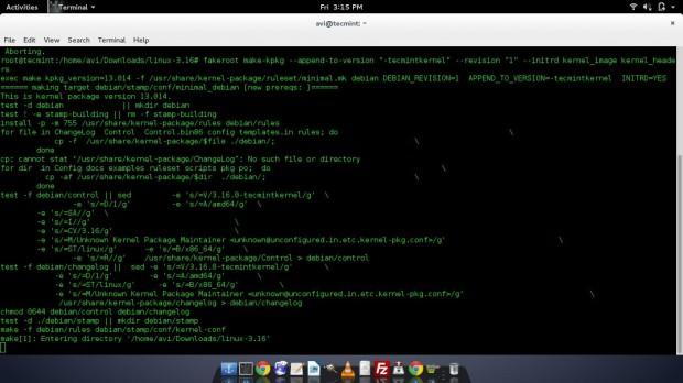 Building Linux Kernel in Debian