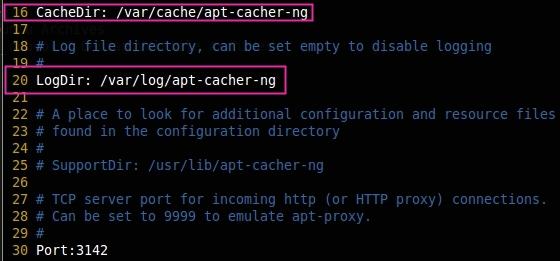 Configure Apt-Cacher-Ng