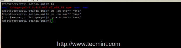 Copy Directories Recursively in Linux