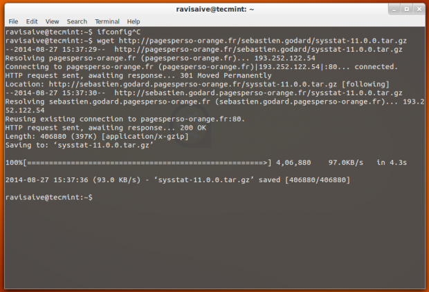 Download Sysstat Package