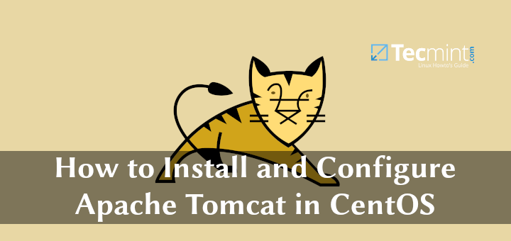 Install Apache Tomcat in CentOS
