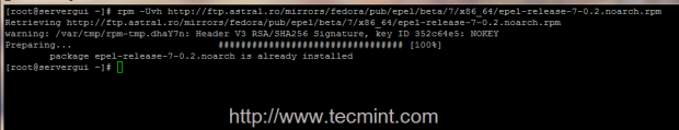 Install Epel Repo in CentOS