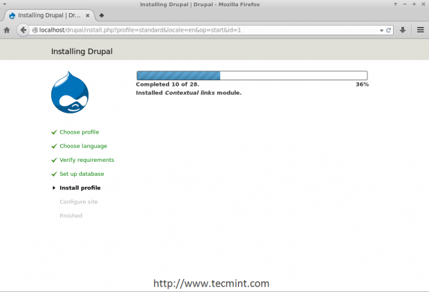 Drupal Installation Process