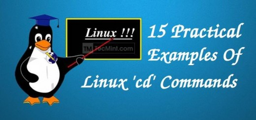 Linux cd Commands